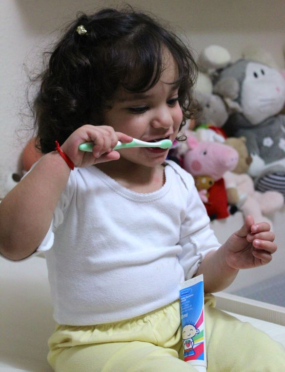 aprender a lavarse los dientes