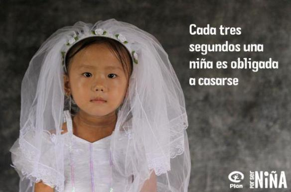 no al matrimonio infantil