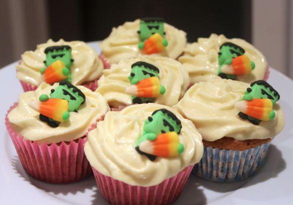 cupcake de calabaza