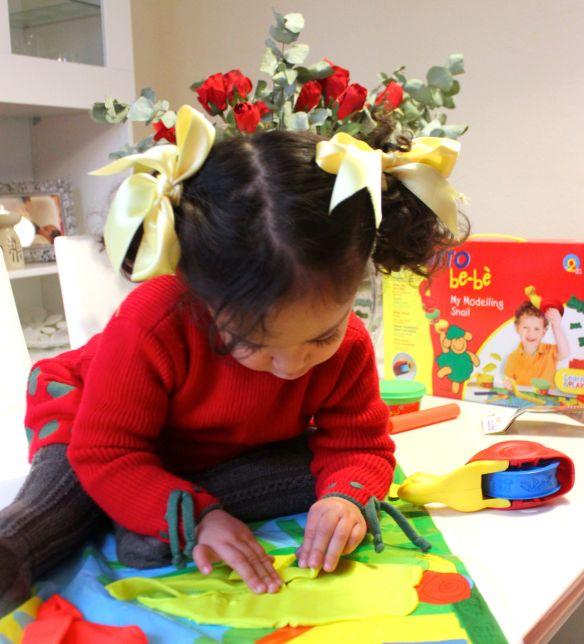 plastilina y lis niños
