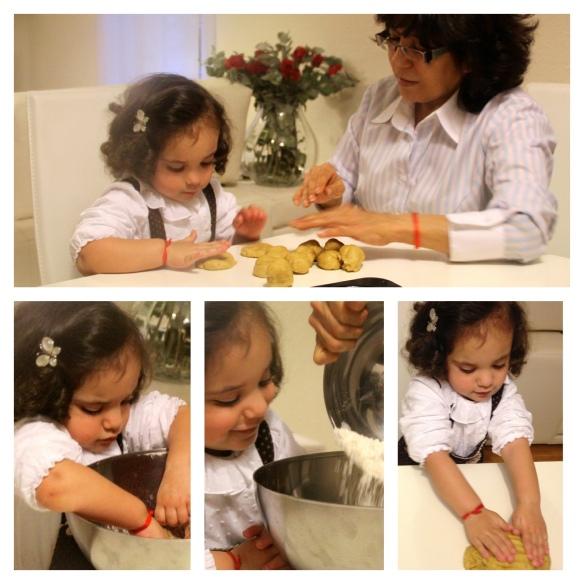 receta galletas bebes