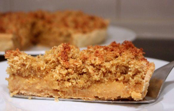 receta tarta de coco y manjarblanco