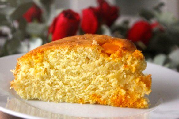 receta de tarta de naranja