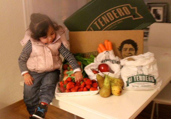el tendero fruta y verdura