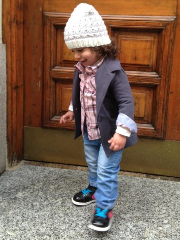 niños hipster