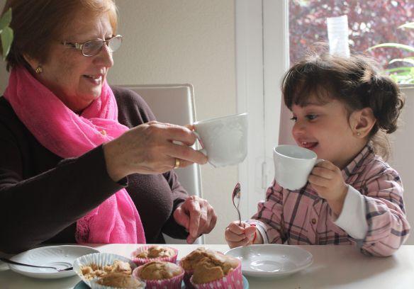 merienda con abuelos
