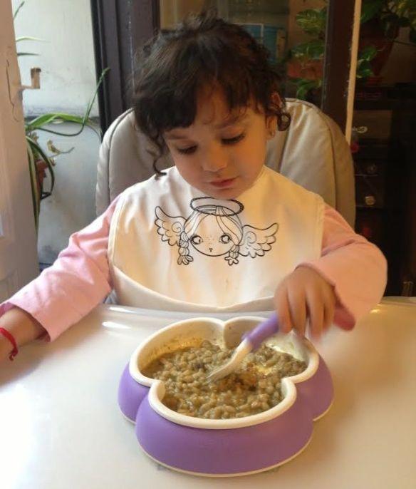 receta trigo pelado niños