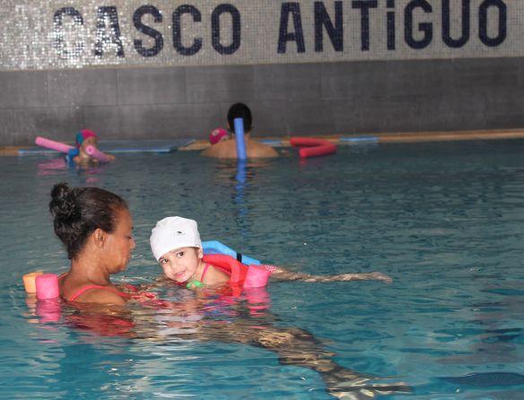 natación niños barrio salamanca