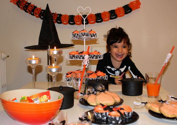 receta halloween para niños