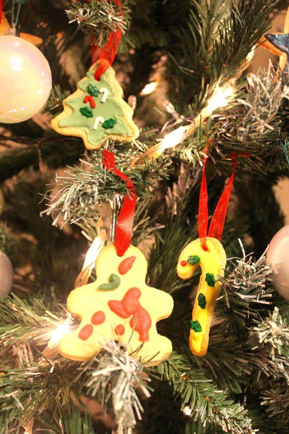 galletas para el arbol de navidad