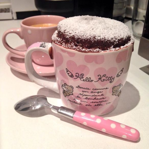 mug cake niños